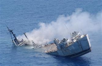 السلطات الإيرانية: غرق سفينة إنزال على متنها 7 أشخاص قرب مضيق هرمز