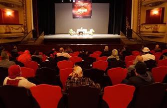 نادي سينما أوبرا الإسكندرية يعرض فيلم «ابن سينا» وندوة توعوية عن «كورونا» | صور