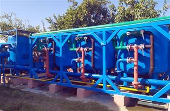 مليون جنيه لمد وتدعيم شبكات مياه الشرب بالصوامعة غرب طهطا بسوهاج | صور