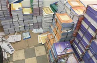 ضبط أكثر من 17 ألف كتاب دراسي بدون تصريح داخل مكتبة بالقليوبية