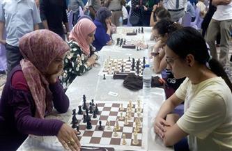 """منافسات قوية فى دوري الشطرنج """"للسيدات""""   صور"""