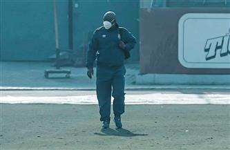 موسيماني يظهر في ملعب التتش بعد تعافيه من كورونا