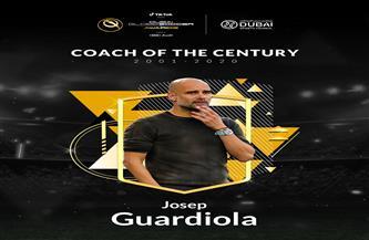 جوارديولا يفوز بجائزة مدرب القرن   فيديو