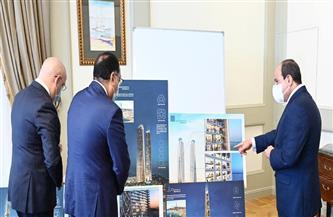 الرئيس السيسي يوجه بزيادة عدد القرى إلى 1500.. وبناء 350 ألف وحدة سكنية جديدة