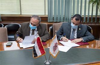 بروتوكول تعاون بين مؤسسة الأهرام وجامعة الوادي الجديد