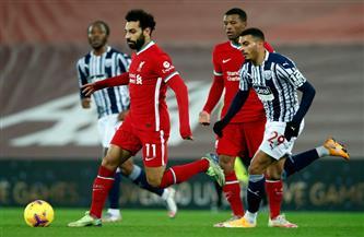انطلاق مباراة ليفربول ووست بروميتش بالدوري الإنجليزي