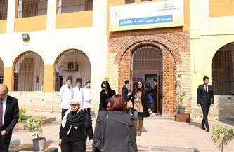 """خلف قضبان سجن القناطر.. """"بوابة الأهرام"""" تكشف تفاصيل زيارة وفد حقوق الإنسان"""