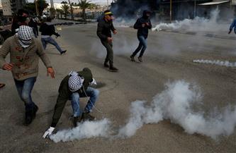 إصابة عشرات الفلسطينيين بالاختناق خلال إطلاق الاحتلال الإسرائيلي لقنابل الغاز برام الله