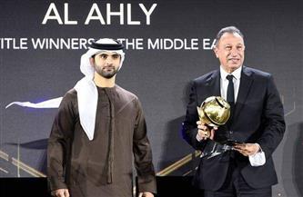 وزير الرياضة يهنئ الأهلي بجائزة الأكثر تتويجًا في الشرق الأوسط | صور