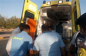 التحقيق في مصرع أمين شرطة ومتهمة.. صدمتهما سيارة في أكتوبر