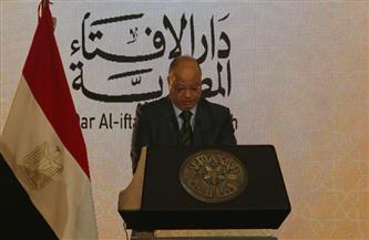 """محافظ القاهرة خلال مشاركته مؤتمر دار الإفتاء السنوي: """"السيسي حمى الوعي من التزييف""""  صور"""
