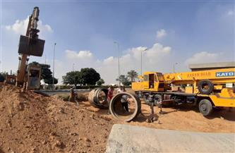 الانتهاء من تنفيذ خط طرد إضافى من محطة الصرف الصحى الرئيسية بالشروق|صور