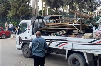 إزالة 562 إشغال طريق ومصادرة 31 شيشة فى حملة بالبحيرة