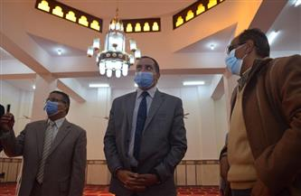 افتتاح مسجد  الدكتور صلاح أبوزيد  بمقر جامعة سوهاج الجديد أول يناير| صور
