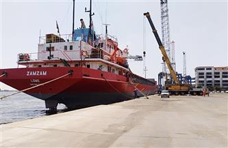 21 سفينة إجمالى حركة سفن الحاويات والبضائع بموانئ بورسعيد | صور