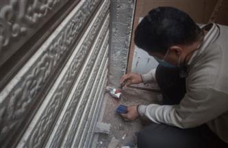 تشميع 9 محال تجارية في شارع إسكندرية وإيقاف أعمال بناء في 4 عقارات بمطروح  صور