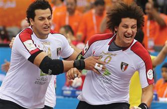 يد مصر تواجه البرازيل 9 يناير استعدادا للمونديال