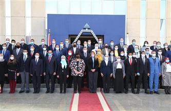 وزيرة الثقافة تلتقي متدربي الدفعة الثالثة من البرنامج الرئاسي لتأهيل التنفيذيين للقيادة | صور