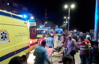 مصرع عامل وإصابة 11 آخرين في حادث على الطريق الإقليمي في الشرقية