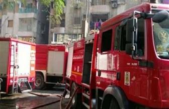 """السيطرة على حريق محدود أسفل كوبري """"مرغم"""" بالإسكندرية"""