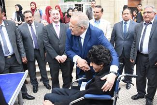 الخشت يهنئ طلاب جامعة القاهرة من القدرات الخاصة بمناسبة اليوم العالمي  صور