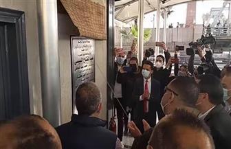 وزير الري يفتتح المرحلة الثانية من الأتوبيس النهري بمحطات أنيس منصور وفاروق الباز |صور