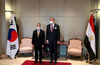 السفير المصري في سول يبحث سبل التعاون بين مصر والمعهد الدولي للقاحات التابع للأمم المتحدة | صور