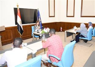 وزيرة الهجرة تلقي محاضرة للصحفيين السودانيين المتدربين بوزارة الدولة للإعلام | صور