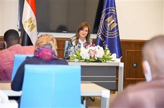 وزيرة الهجرة تؤكد أهمية دور الإعلام المصري والسوداني لمواجهة دعوات بث الفرقة بين الشعبين | صور