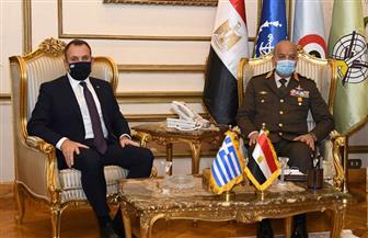 الفريق أول محمد زكي يلتقي وزير دفاع اليونان خلال زيارته الرسمية لمصر | صور