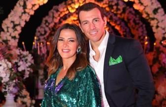 أول تعليق من دنيا سمير غانم على إصابة زوجها رامي رضوان بفيروس كورونا