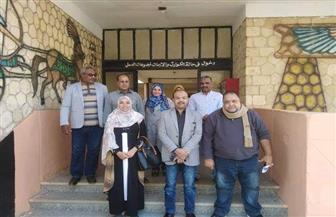 إعداد دراسات المخطط الإستراتيجي لقرية السلام بمركز أرمنت في الأقصر   صور