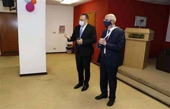 الأمين العام للوكالة المصرية للشراكة من أجل التنمية يزور جامعة سنجور والجامعة المصرية اليابانية | صور