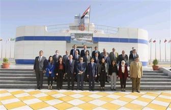 معهد الدراسات الدبلوماسية ينظم زيارة للملحقين الدبلوماسيين الجدد إلى هيئة قناة السويس|صور