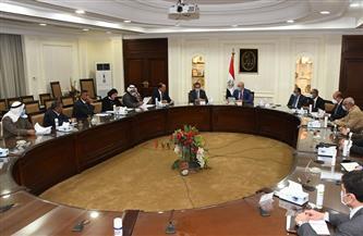 وزير الإسكان يلتقى أعضاء النواب والشيوخ بمحافظة شمال سيناء للاستماع إلى مطالبهم