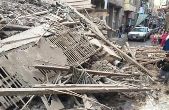 مصرع سيدة وإصابة ٨ في انهيار منزل بقرية أولاد بدر بأسيوط