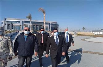 وزير الرياضة يطمئن على تجهيزات الصالة المغطاة بالعاصمة الإدارية قبل انطلاق مونديال اليد