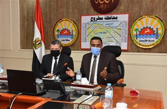مجلس جامعة مطروح يعقد اجتماعه الـ 30 | صور