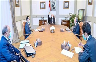 الرئيس السيسي يوجه بتوفير الموارد المالية للتطوير الشامل لجميع محطات المياه على مستوى الجمهورية