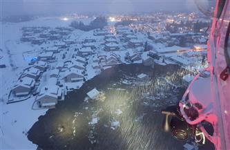 الشرطة النرويجية: 21 مفقودا إثر انهيار أرضي واسع النطاق جنوبى البلاد