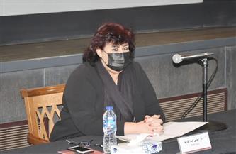 وزيرة الثقافة تجتمع برؤساء الهيئات والقطاعات لوضع منهجية العمل في ظل كورونا | صور