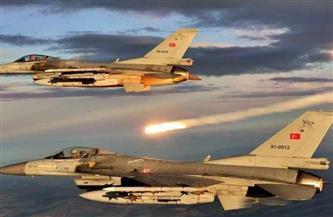 طائرات حربية تركية تشن غارات على محافظة دهوك بالعراق