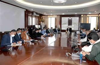 محافظ الأقصر يناقش بجلسة المجلس التنفيذي الإجراءات الاحترازية للوقاية من كورونا | صور