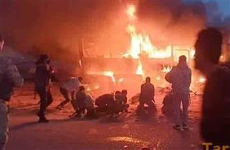 مصرع 25 مواطنا سوريا جراء هجوم إرهابي على حافلتهم في دير الزور