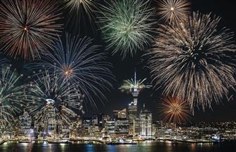 نيوزيلندا تقيم احتفالات ليلة رأس السنة الجديدة كالمعتاد خلافا لكثير من دول العالم