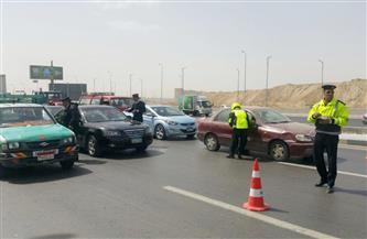 تحرير 507 مخالفات مرورية فى حملة على الطرق بسوهاج