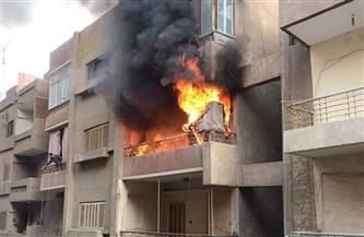 انتداب المعمل الجنائي لمعاينة حريق شقة سكنية بمنطقة السلام