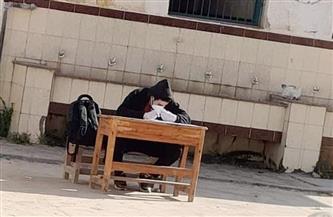 """""""تعليم الإسكندرية"""" تحقق في واقعة أداء طالب مصاب بكورونا الامتحان"""