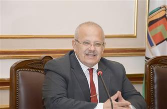 رئيس جامعة القاهرة: 4770 شاشة وريسيفرات وأطباق استقبال القنوات الفضائية بغرف المدن الجامعية