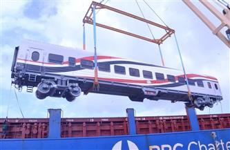 وزير النقل: وصول 13 عربة سكة حديد جديدة للركاب إلى ميناء الإسكندرية| صور